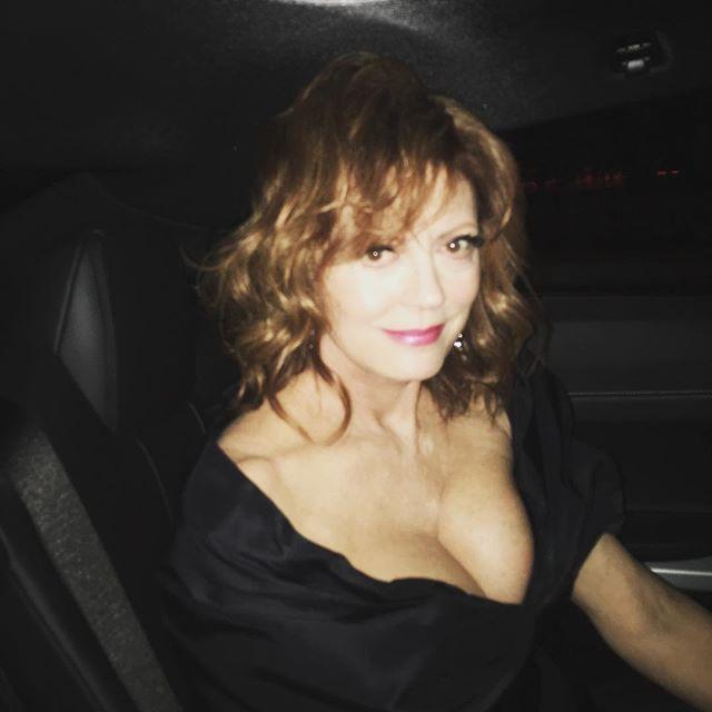 Pin for Later: Les Stars Nous Emmènent en Coulisses du Festival de Cannes Avec Instagram Susan Sarandon