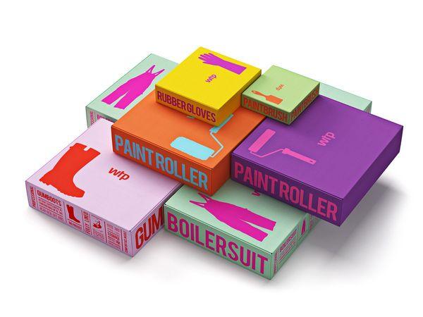 Waldo Trommler Paints #packaging