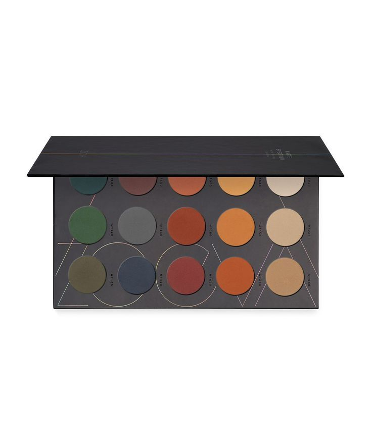 Matte Spectrum Eyeshadow Palette by ZOEVA  15 eye colours with a matte finish. Colours range from cool greens and blue to warmer burnt oranges, plus lighter ivory and caramel. Free from parabens and mineral oil. #affiliate