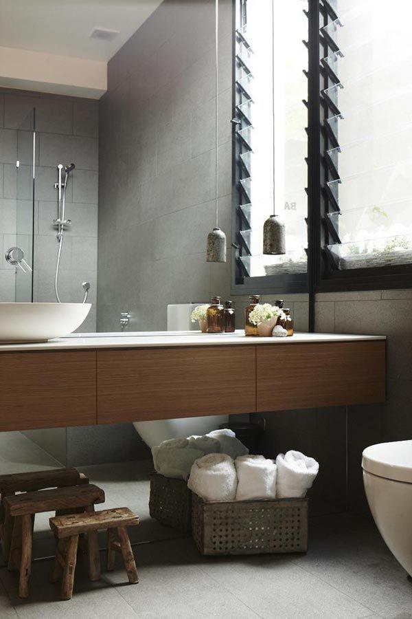 Badkamertrends 2014 - 2015. Voor meer badkamer inspiratie kijk ook eens op http://www.wonenonline.nl/badkamers/