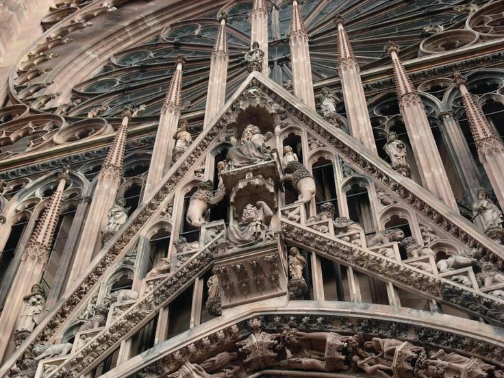 25 best ideas about strasbourg cathedral on pinterest for Strasbourg architecture