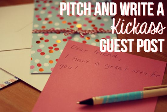 How to pitch and write a guest post by Her New Leaf