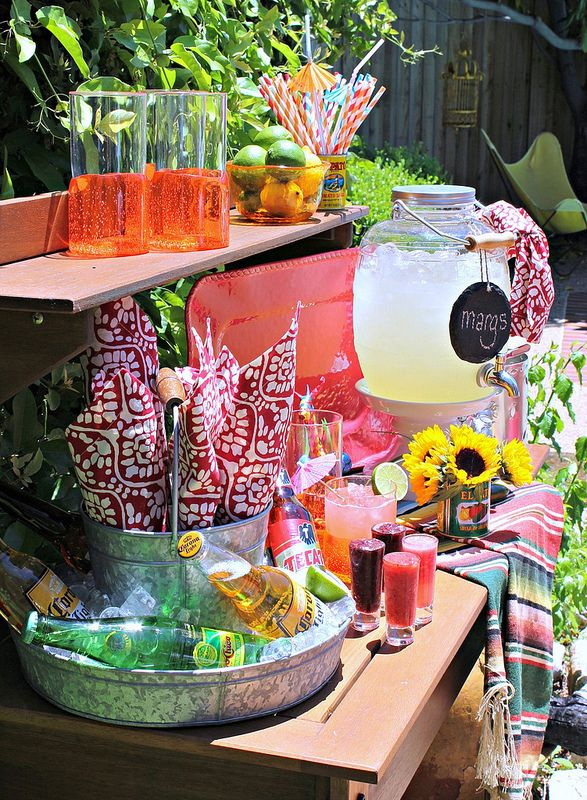 Hi Sugarplum | How to throw an easy Fiesta / Margarita Party!