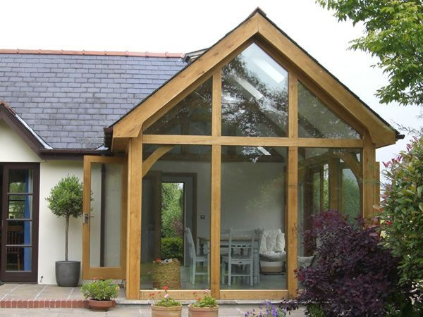Image result for how much for a cheap hard wood timber frame sun room?