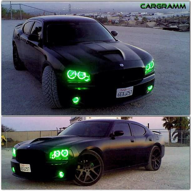 Dodge Charger, if only i could have it with pink high lights #sexy #gorgeous #car When it comes to road safety in all elements, I want uniformity. This is where I draw the line. I want all colored, non-standardized headlights banned.