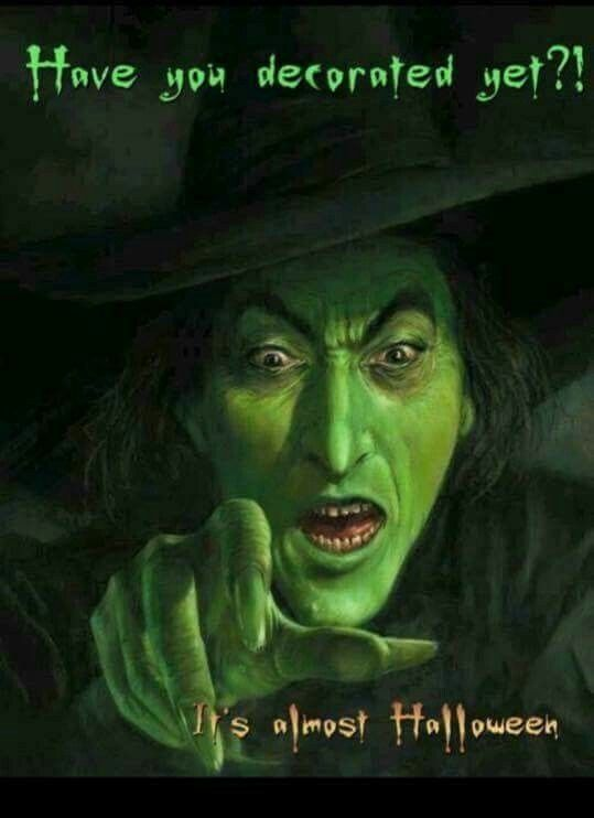 Elegant Wicked Witch, Acting As My Conscience.