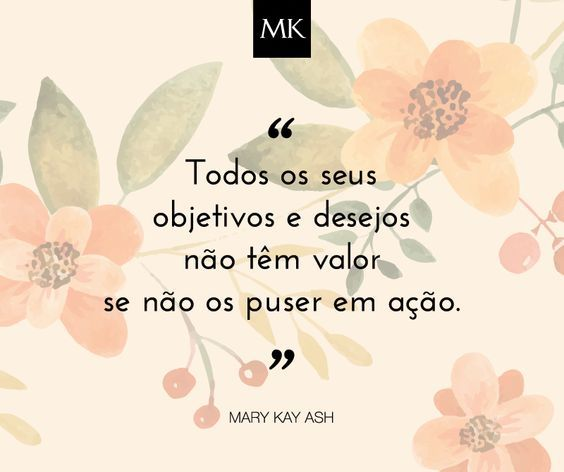 Com a Mary Kay, siga o seu sonho de fazer aquilo que gosta e oferecer confiança a quem encontrar pelo caminho. <3 Torne-se Consultor(a) de Beleza e mude a sua vida! ;):