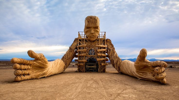 AFRIKABURN While just 10-15% as large as its mother event, Burning Man, AfrikaBurn is a festival on the rise that's attracting more and  more visitors from more than  50 countries around the world.