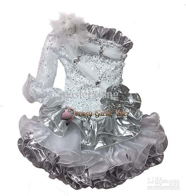 Special Occasion Wear Cupcakes Toddler Mini Skirt Infant Organza Little Kid One Shoulder Beads Wedding Flower Girls Dress Pageant Dresses Cupcakes Custom Boys Occasion From Masterxiang, $77.17| Dhgate.Com