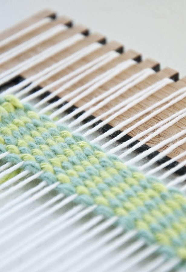 Today I have a simple and fun way to add some interest to your weaves and it's called vertical strips. These are created using the plain weave, however, you weave with two different colored …