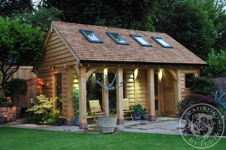 Perfect garden cabin. https://www.quick-garden.co.uk/log-cabins.html