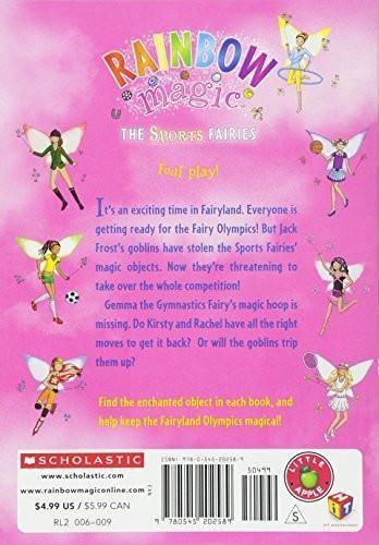 Gemma the Gymnastics Fairy (Rainbow Magic: Sports Fairies #7)