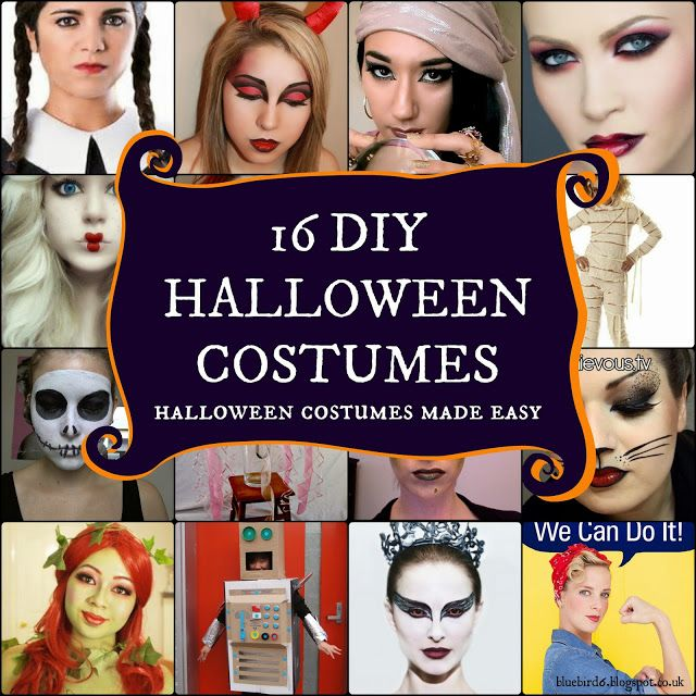 16 easy and cheap DIY Halloween Costumes archived in one place!  sc 1 st  Pinterest & 100 best Halloween images on Pinterest | Halloween stuff Carnivals ...