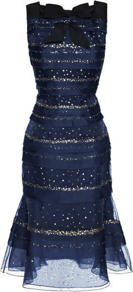 carolina hererra midnight blue really can make your even some enchanted evening!