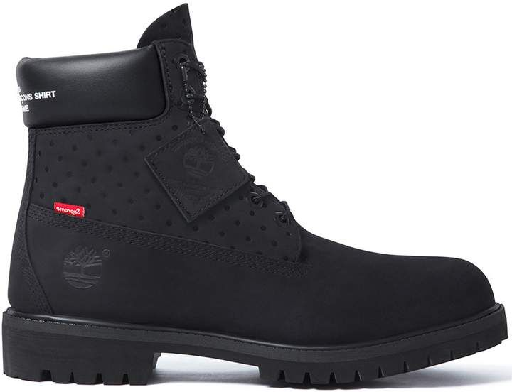 Timberland 6 Boot Supreme x Comme des Garcons Black   Zero
