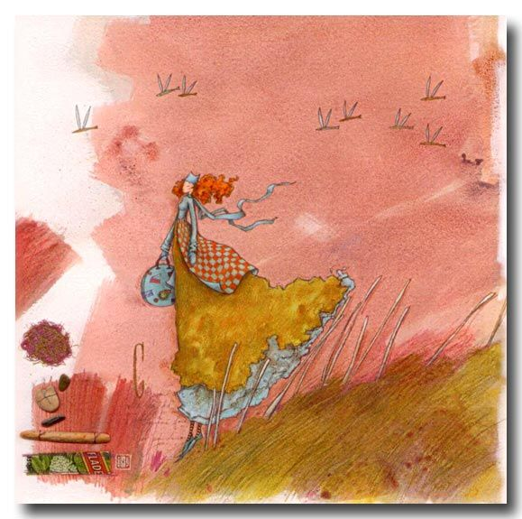 Flighty Naty: Gaelle Boissonnard
