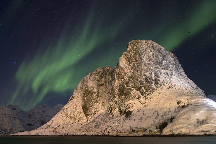 Aurora borealis over Hamnoy. by Richard McManus on 500px