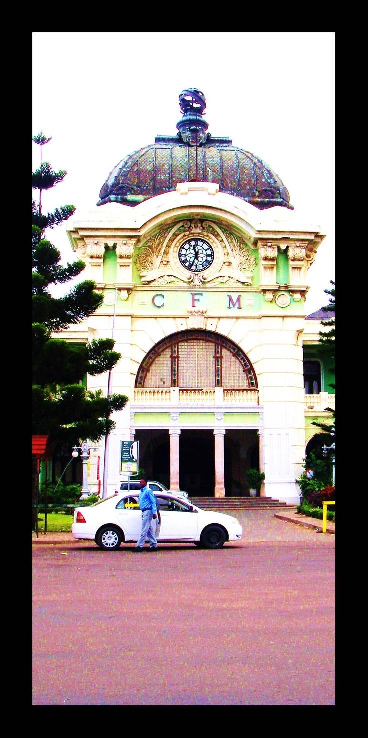 Maputo....train station