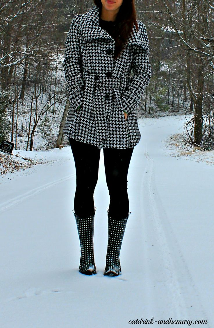"Eat Drink & Be Mary: ""Cowboy"" Rain Boots + Snow Day Photography"