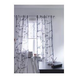 EIVOR Curtains, 1 pair - IKEA $15 I also think these would be cute.. although definitely a major step outside of comfort zone lmao. But how else are we gunna make our place unique?!