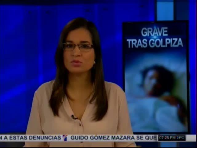 Mujer Grave Tras Golpiza Que Le Dio Miembro De La Fuerza Aérea Dominicana #Video