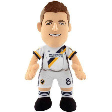 MLS 10 inch Plush Figure LA Galaxy Player Steven Gerrard, White, Assorted