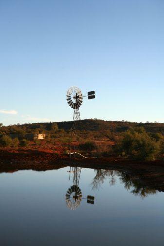 Windmill Reflection - Northern Territory - Australia