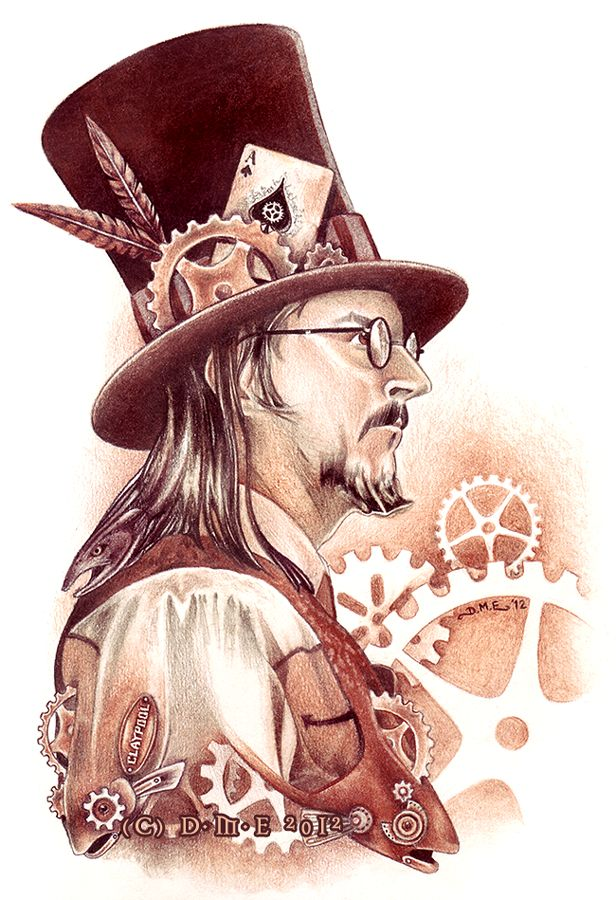 Steampunk Les Claypool
