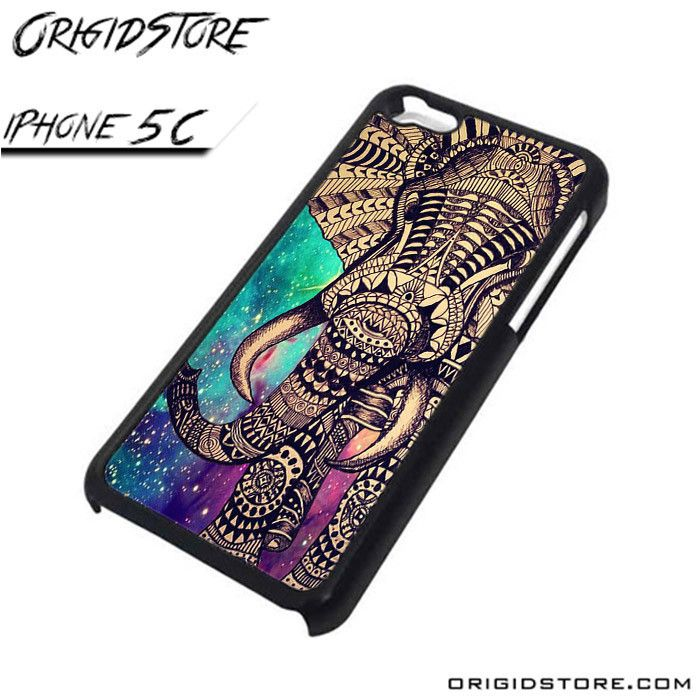 elephant galaxy aztec pattern For iPhone Cases Phone Covers Phone Cases iPhone 5C Case iPhone 5C Case Smartphone Case