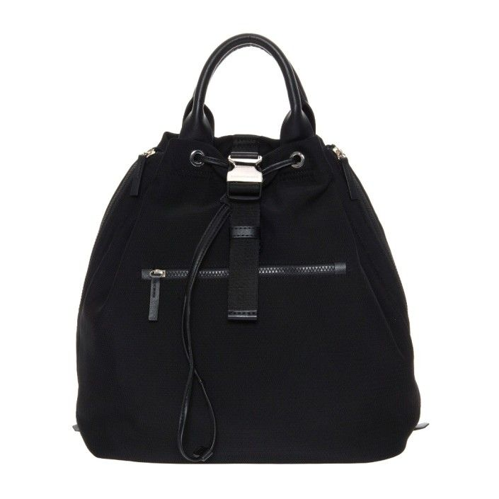 MANDARINA DUCK Zaino Backpack CAMDEM LLT04 Black