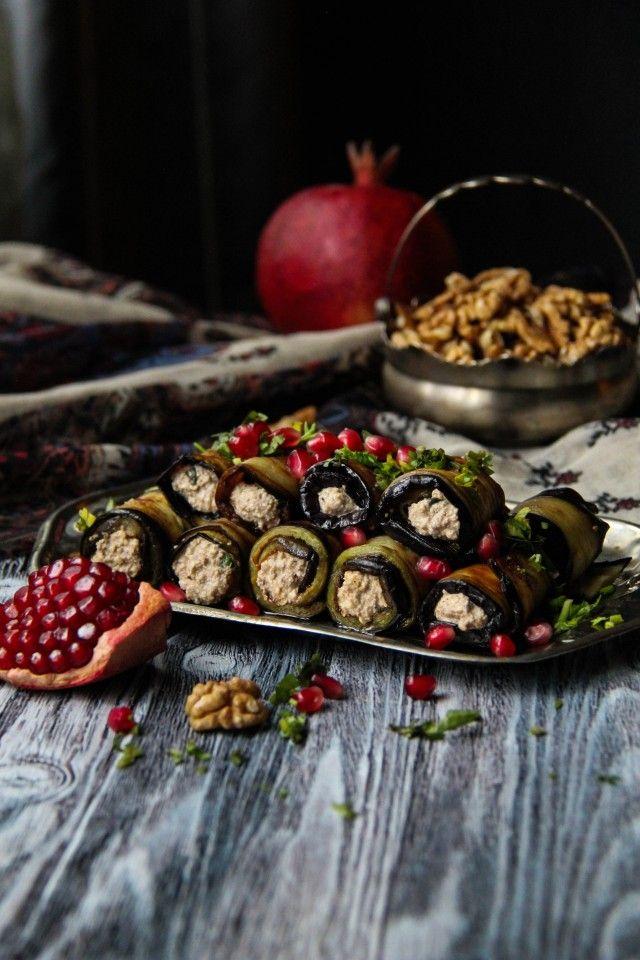 Баклажаны с ореховой начинкой » Рецепты » Кулинарный ...