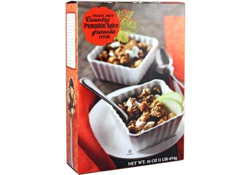Trader Joe's | Country Pumpkin Spice Granola | 16oz $2.49 #traderjoes #pumpkin #granola #pumpkinspice