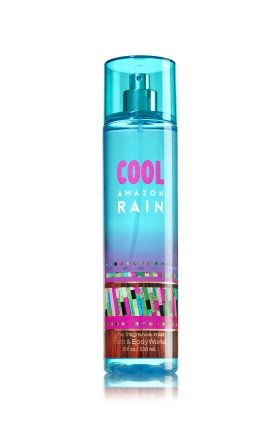 Cool Amazon Rain - Fine Fragrance Mist - Bath & Body Works - Lavishly splash or lightly spritz your favorite fragrance, either way you'll fall in love at first mist! Our carefully crafted bottle and sophisticated pump delivers great coverage while conditioning aloe mist nourishes skin for the lightest, most refreshing way to fragrance!