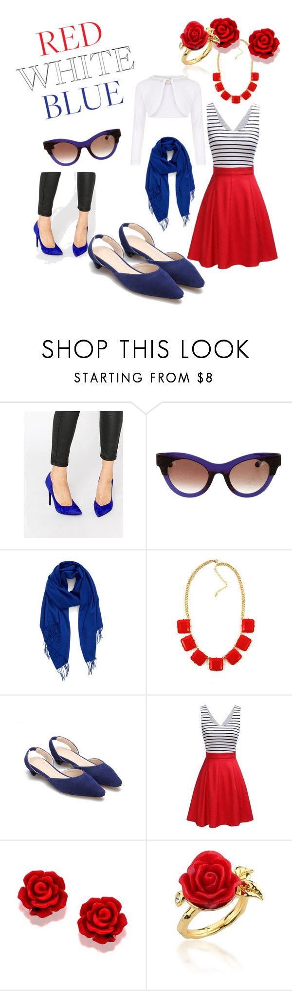 """""""Fourth of July!!"""" by jesstruhan on Polyvore featuring Kendall + Kylie, Thierry Lasry, Nordstrom, Disney Couture and Monsoon"""