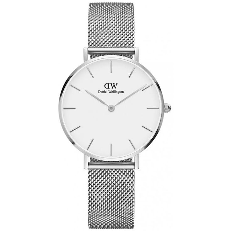 Classic Petite Sterling DW00100164 Daniel Wellington Watch - Free Shipping | Shade Station