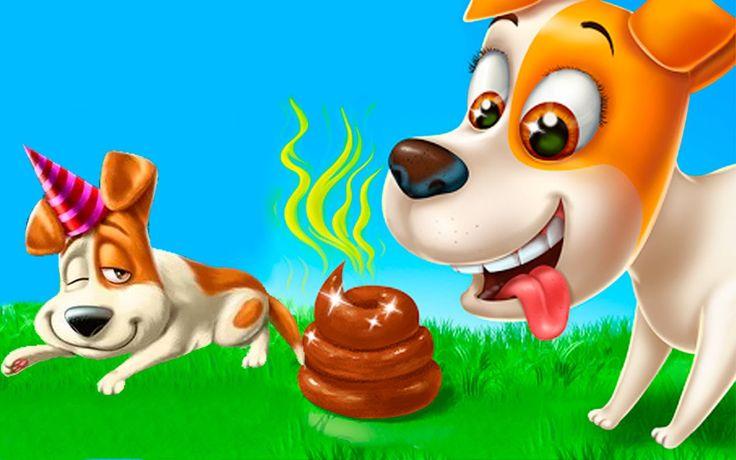 Собачья жизнь. Секретная щенячья ВЕЧЕРИНКА. Мультик игра про собачку. Та...