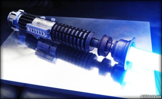 Bioware artist builds stunning replica of Obi-Wan's lightsaber