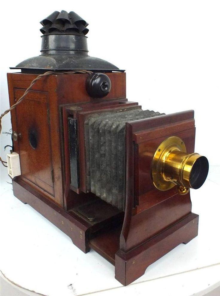 antique magic lantern projector 2 lenses all boxed antiques lanterns and lenses. Black Bedroom Furniture Sets. Home Design Ideas