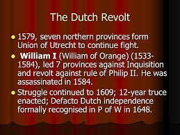 How adequate is this summary of the Dutch Revolt?