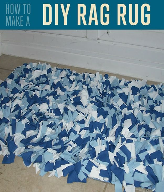 Best 25+ Rag Rug Tutorial Ideas On Pinterest