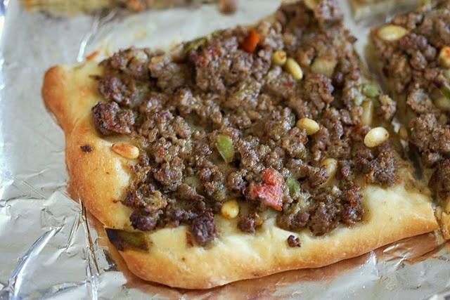 Mana'eesh: Spiced Lamb Flatbread