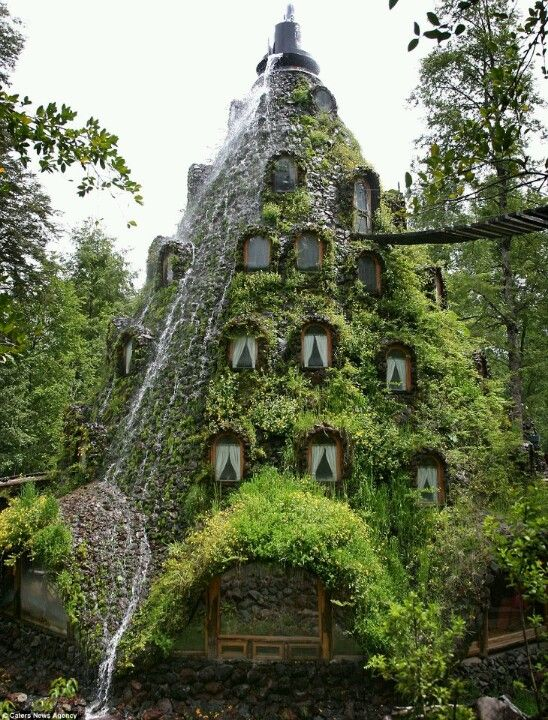 Montaña Mágica Lodge.  A hobbit hotel in one of the best places on earth: CHILE!