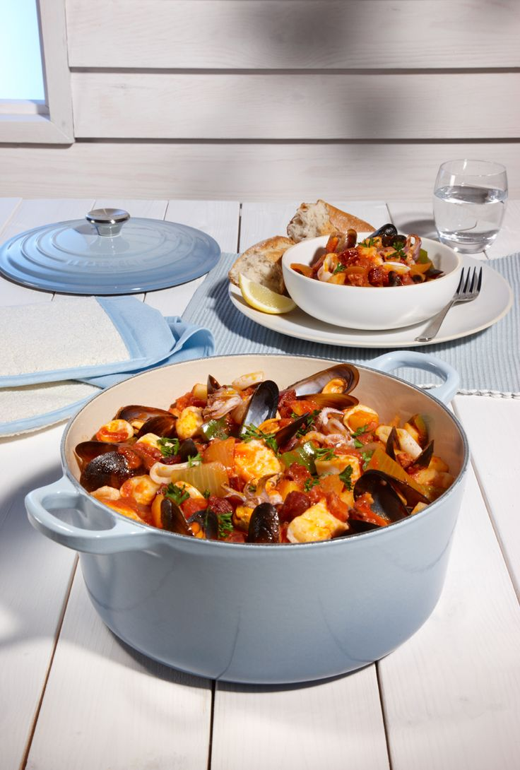 Seafood stew recipe seafood stew rustic italian and for Recipe for seafood stew