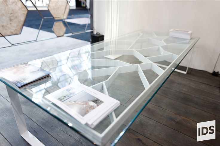 Fracture Coffee Table from IDS2013, image from https://www.flickr.com/photos/interior_design_show_toronto/8550966839/ #IDS13