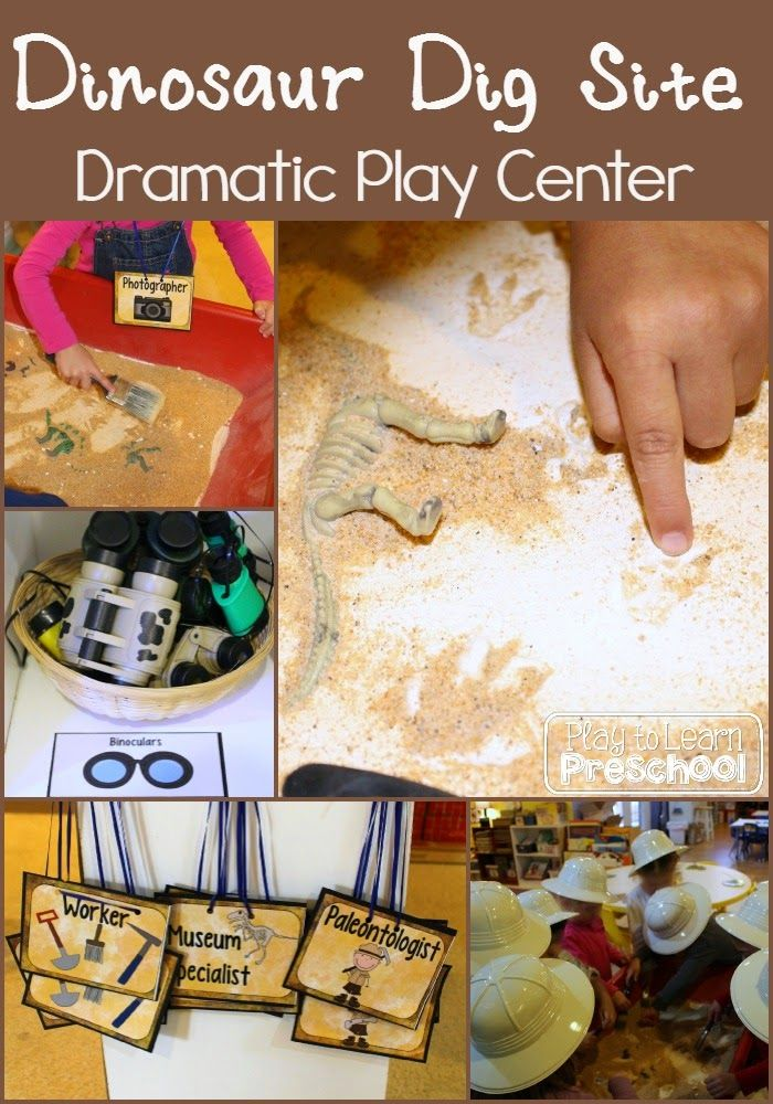 This month at preschool we are learning all about Dinosaurs!  A few of our students are dino-fanatics, so we are excited to tap into their interest and curiosity with this unit.   Our Dramatic Play Center is a Dinosaur Dig Site! We stocked the center with tons of great finds from the Dollar Store: flashlights,... Read More »