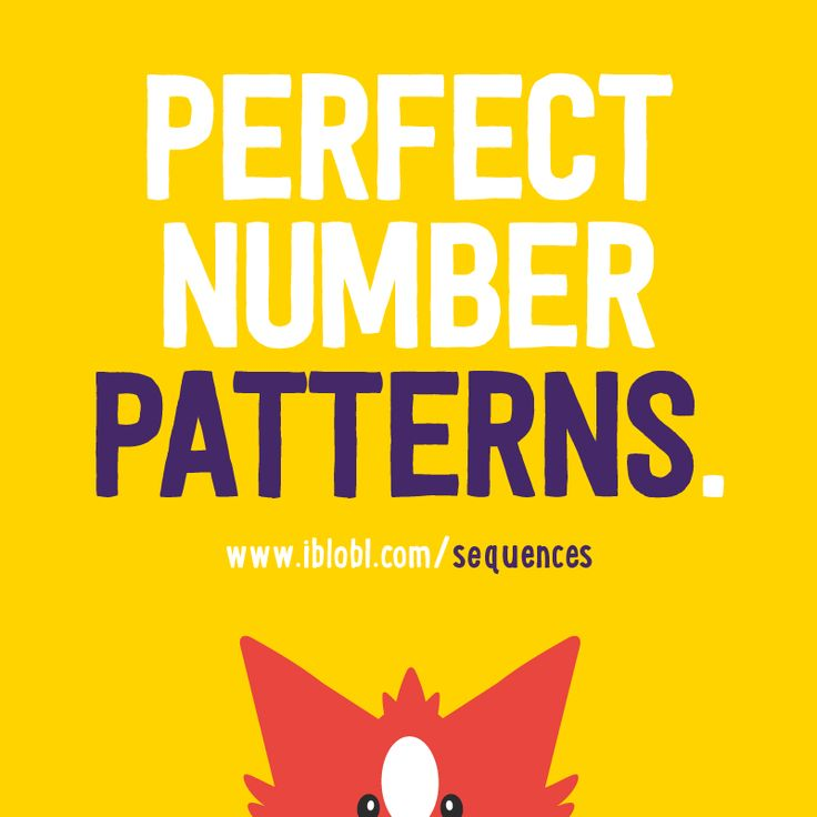Perfect #NumberPatterns!  http://www.ibbleobble.com/sequences #Educational #Apps for #Kids! #iblobl #sequences