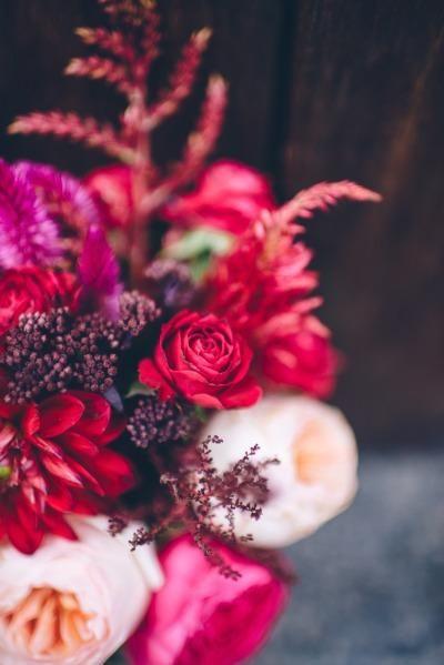 Colourful #wedding bouquet.
