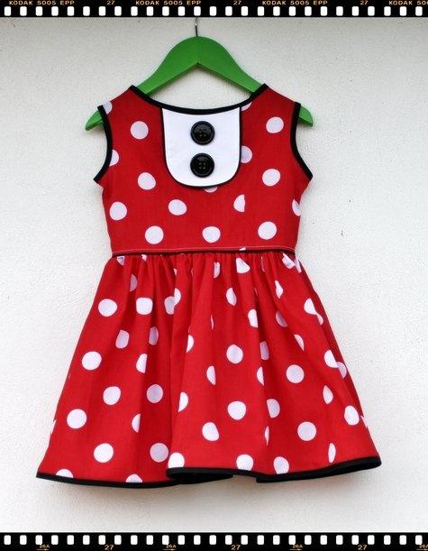 Minnie Mouse Wannabe. Pillowcase Dress ...
