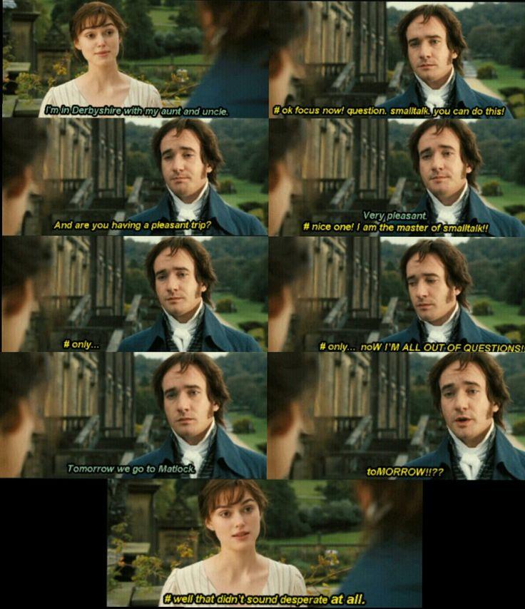 Jane Austen's First Law of Blogging