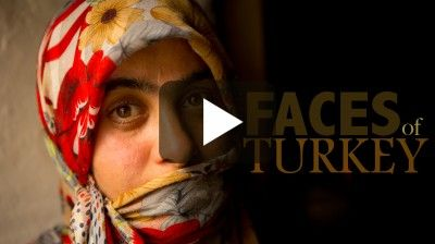 faces & food of Turkey video